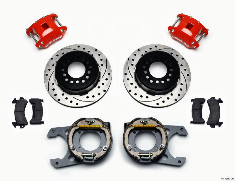 Wilwood D154 Brake Kit 140-12569-DR