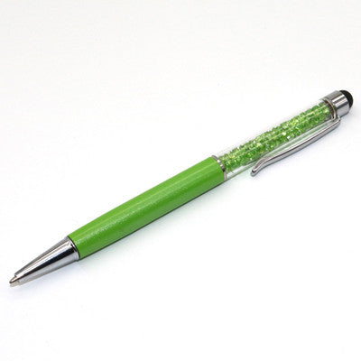 ***Special Promotion*** Creative Crystal Pen w/stylus - Overstock Clearance