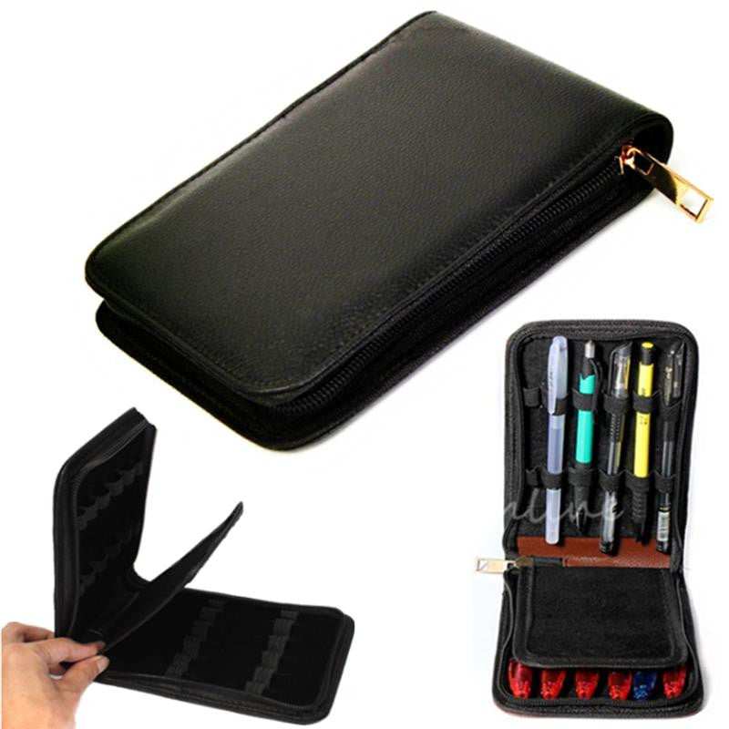 High Quality Leather Fountain Pen Case