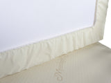 Premium Cotton Crib Mattress Pad - Waterproof