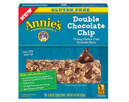 Annie's Homegrown Double Chocolate Chip Gluten Free Granola Bar
