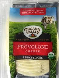 Organic Valley Sliced Provolone