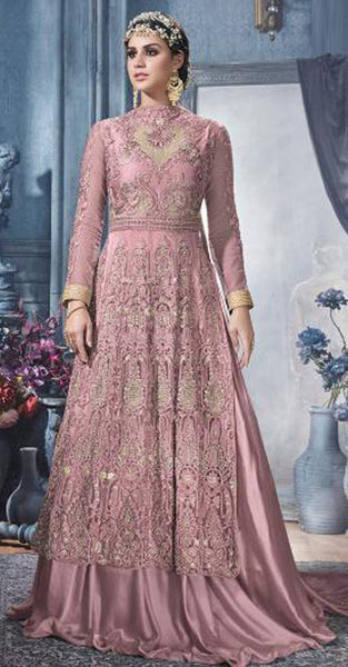 Ideal Pure Georgette Anarkali Suits with heavy embriodery