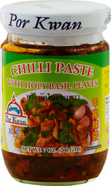 Chili paste med Holly basilikum 200 g