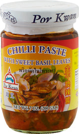 Chili paste med sød basilikum 200 g