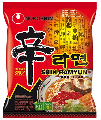 Instant nudelsuppe, shin ramyun