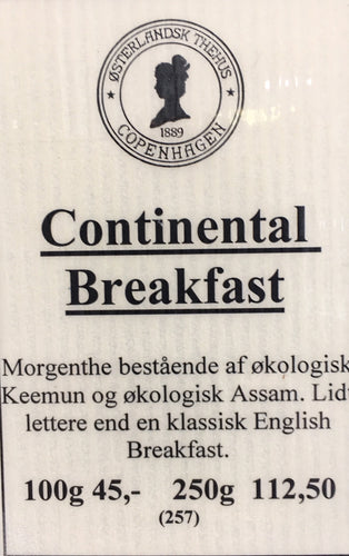 Continental Breakfast 100 g