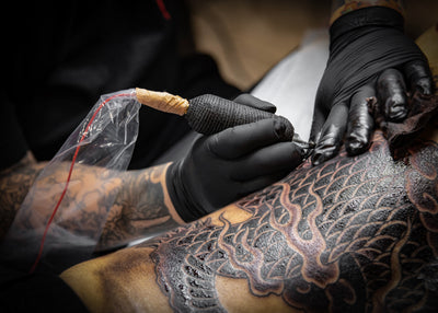 Tattoo Aftercare First 24 - 48 Hours