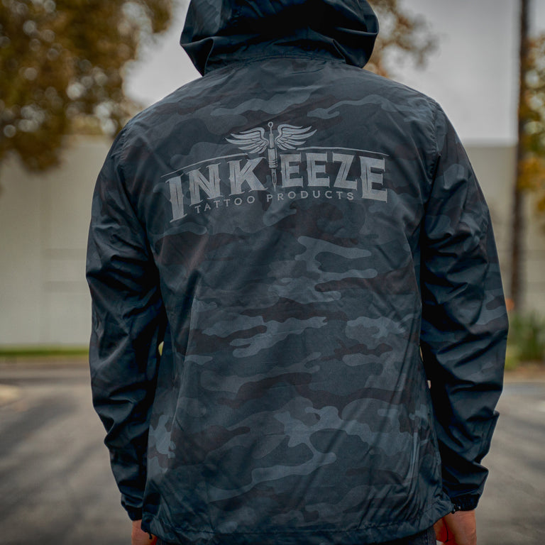 INKEEZE WINDBREAKER ANORAK JACKET