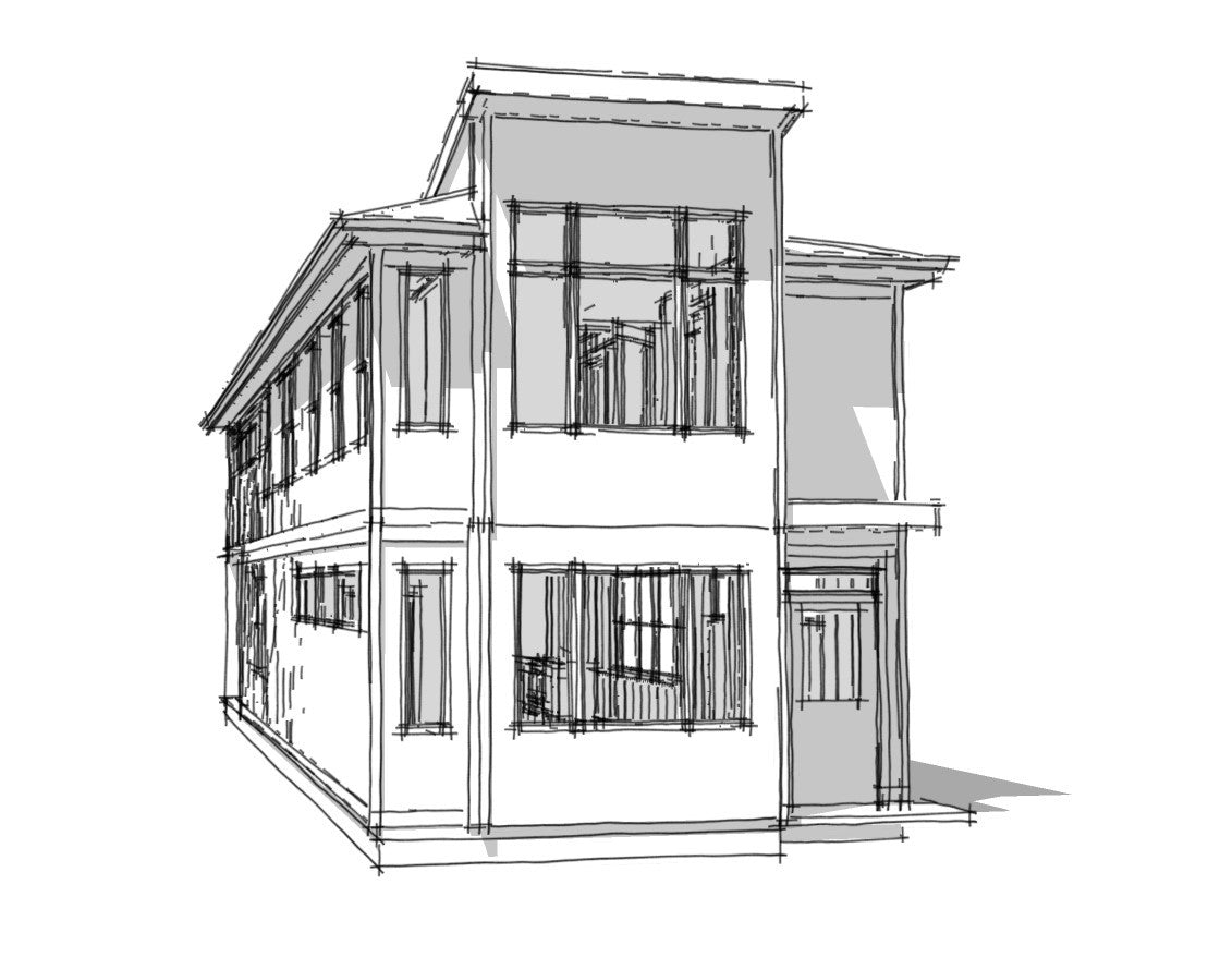 Transitional home plans tagged 3 br for Transitional house plans