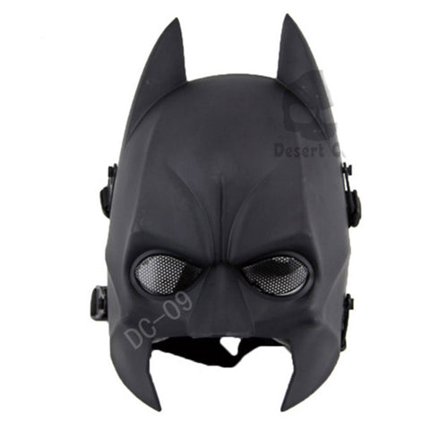 Batman Full Face Tactical looking Airsoft Paintball Mask CS Wargame Face protector
