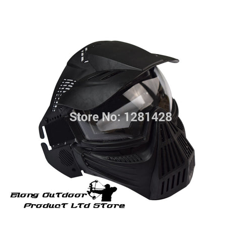 Free Shipping 1PCS  CS Mask Full Face CS Game Archery Practice Sports Airsoft Paintball Protect Mesh