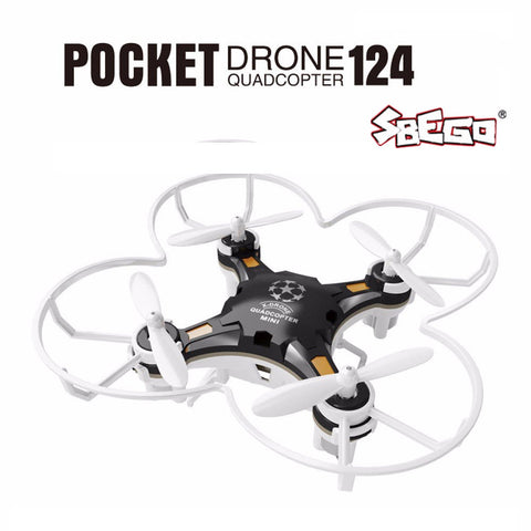 SBEGO FQ777-124 Mini Quadcopter Micro Pocket Drone 4CH 6Axis Gyro Switchable Controller RC Helicopter Kids Toys VS JJRC H37