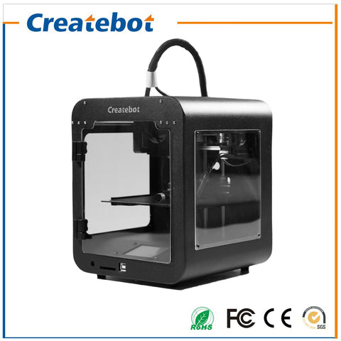 High Accuracy Createbot Super Mini 3D Printer 5 Colors for Option Fine Shape Low Price Build Size 85*80*94mm Small 3D Printer