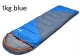 Free shipping outdoor camping adult Sleeping bag waterproof keep warm thre seasons spring summer sleeping bag for Camping Travel