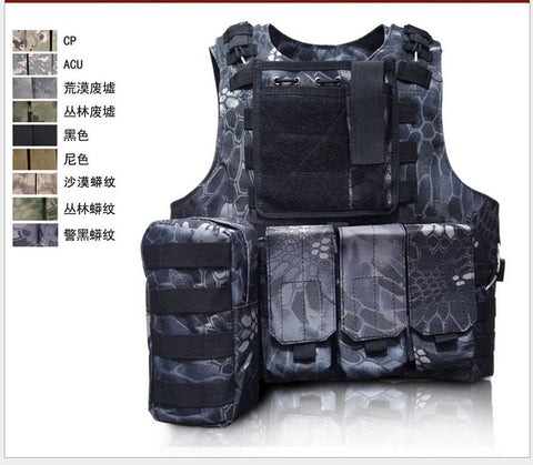 Professional Utility sales USMC Airsoft Tactical Military Molle Combat Assault Plate Carrier Vest Tactical vest tops CS clothing