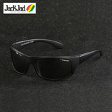 JackJad 2017 Fashion Outdoor Sports Polarized Sunglasses Goggles Men Driving Fishing Running Travel Sun Glasses Oculos De Sol