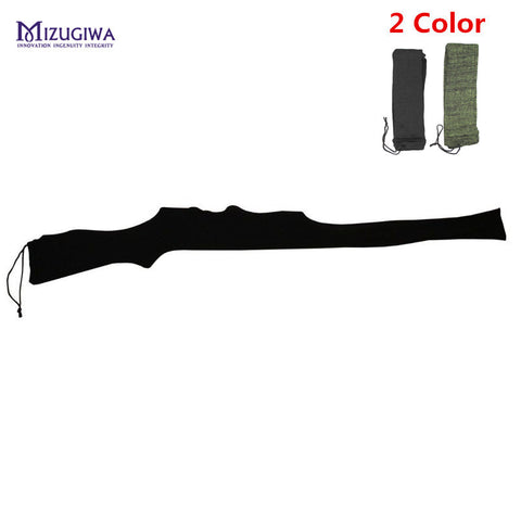 "MIZUGIWA Rifle Knit Air Gun Sock 54"" Polyester Silicone Treated Rifle Protector Shotgun Cover Case Storage Sleeve Firearm Fabric"
