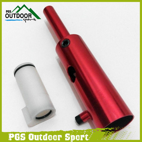 Paintball Tippmann 98 Black Aluminum Power Tube+ Derlin Bolt Red/Black