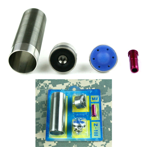 Hot sale MA 4pcs Cylinder head /piston head /nozzle /Cylinder Set for M4 Series airsoft AEG