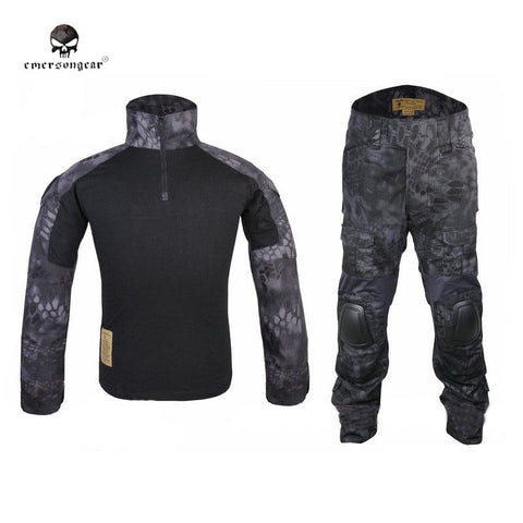 Emerson Kryptek Typhon Gen2 Combat Uniform Tactical Gear shirt and Pants Army BDU Set Hunting Paintball Clothes TYP EM6927