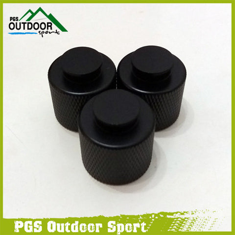 Paintball CO2 HPA Tank Thread Saver Protector Aluminum Black ( 3 pcs/pack )