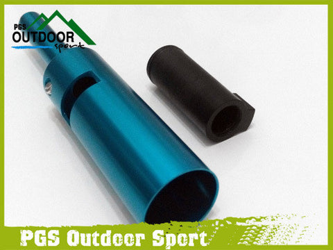 Paintball Tippmann A5 A-5 X7 Power Tube & Delrin Front Bolt Blue