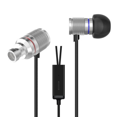KZ HDS3 Earphones 3.5mm Noise Cancelling Headset Gamer Metal Bass Stereo Sound Earphone In Ear Monitors With MiC for Cellphones