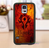 WOW World of Warcraft horde 6 phone case cover for Samsung Galaxy S3 S4 S5 s6 s7 s6 edge s7 edge Note 3 Note 4 Note 5 *lw348