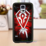 WOW World of Warcraft horde 5 phone case cover for Samsung Galaxy s3 s4 s5 note 3 note 4 note 5 s6 s7 s6 edge s7 edge *cC767