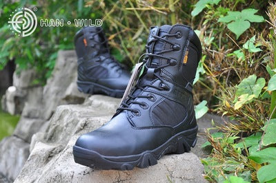 Production wholesale supply delta desert boots, and the special war boots, side zipper hiking boots