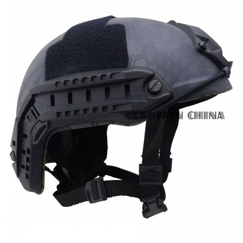 New Paintball Tactical Fast Base Jump Simple Protection Black MH Airsoft Outdoor Tactical Helmet