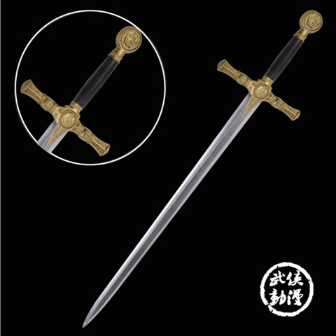 High Quality Hot Sale Larp Sword King Arthur PU&Foam Sword  Cosplay equipmentLarp Weapon Sword Costume Accessories
