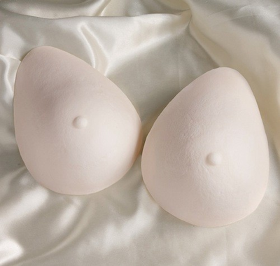 Oval Foam Breast Forms (Pair)