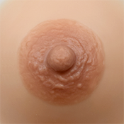 Divine Nipple Lexi 60 in Light Cinnamon