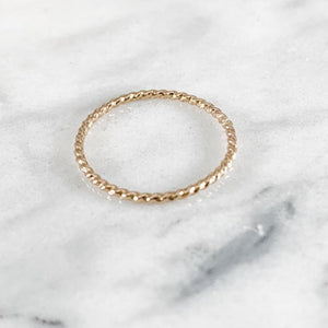One 1.3mm  Stacking Ring - Choose Metal