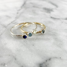 Load image into Gallery viewer, Minimalist Birthstone Ring