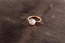 Load image into Gallery viewer, Moonstone 8mm Gemstone Ring