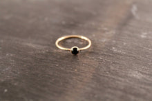Load image into Gallery viewer, Onyx Gemstone Ring