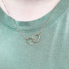 Load image into Gallery viewer, Heart Double Link Necklace (Profits donated to Mission: St Louis)