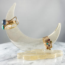 Load image into Gallery viewer, Moon Resin Ring Holder
