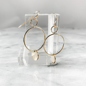 Tag Dangle Earrings