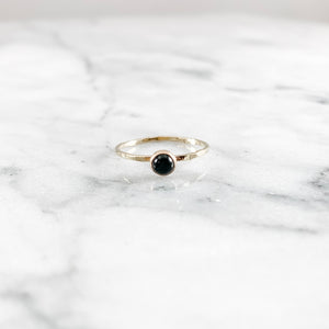 Onyx Gemstone Ring