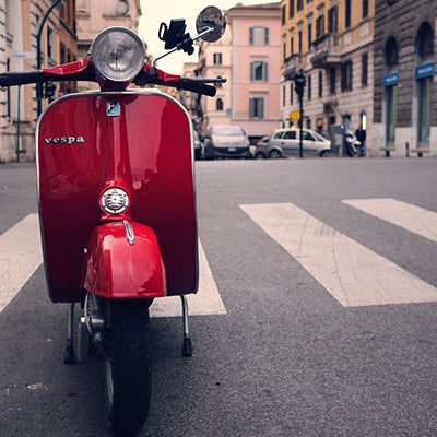 Win an Authentic Italian Vespa!