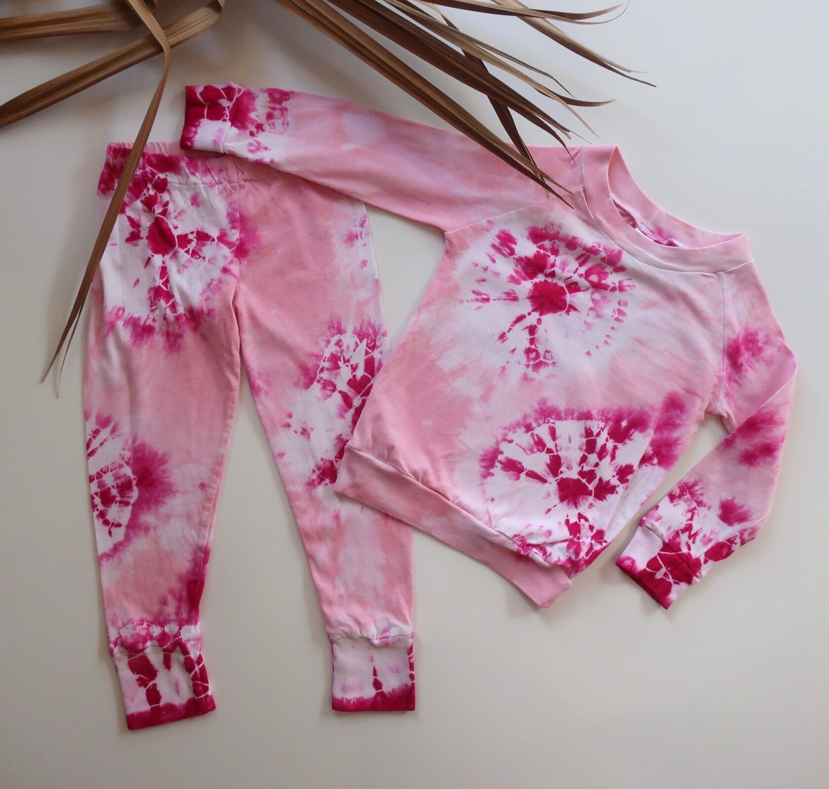 Handmade Organic Cotton Kids Pyjamas