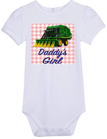 Daddy's Girl Bodysuit -Cotton Picker