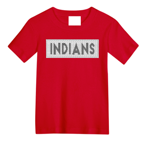 Indians Faux Smocked Shirt