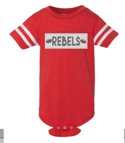 Rebels Faux Smocked Bodysuit