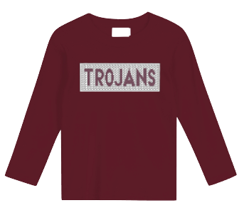 Trojans Faux Smocked Shirt
