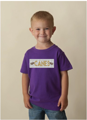 Canes Faux Smocked Shirt